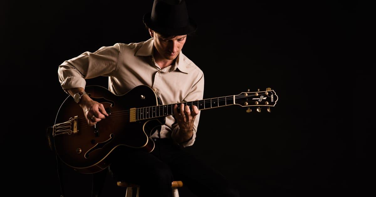 Hire Guitarists (Jazz): Book a jazz guitarist for a Wedding