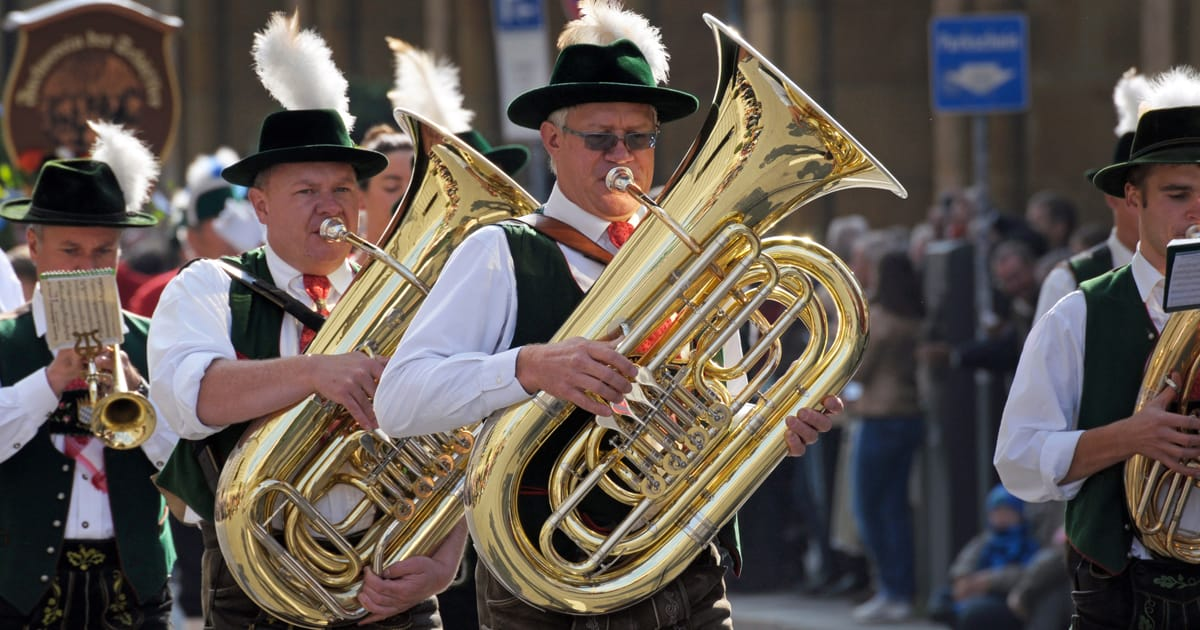 Hire Brass / Oompah / Marching Bands for Weddings & Events