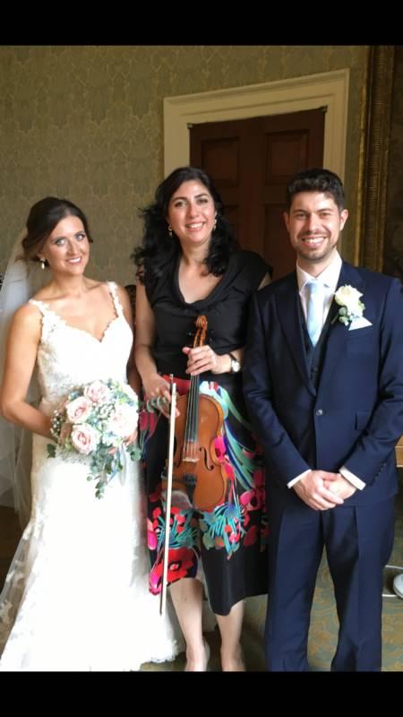 Tamilla Thomas-The Violin Expert | Last Minute Musicians