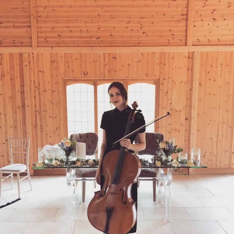 Isabella Dembinska - Cello Expert   Last Minute Musicians